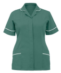 Ladies Healthcare Tunic (Sizes 8 - 30, 18 Colours or Variations, Bottle, Burgundy,Eau de Nil, Hospital Blue, Lilac)